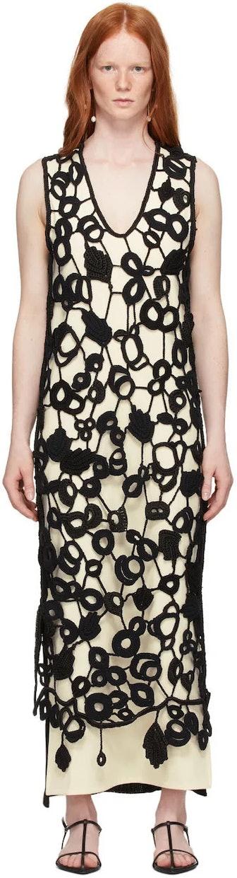 Hand-Knit Crochet Dress