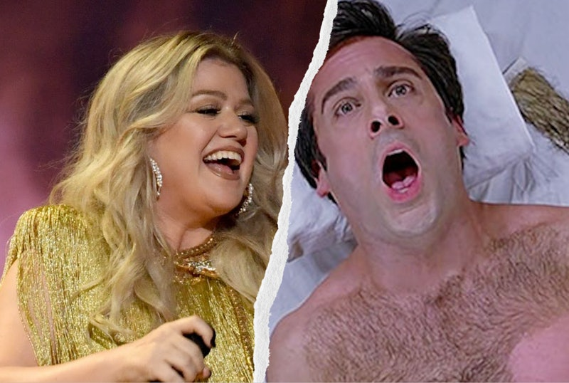 Kelly Clarkson and Steve Carell