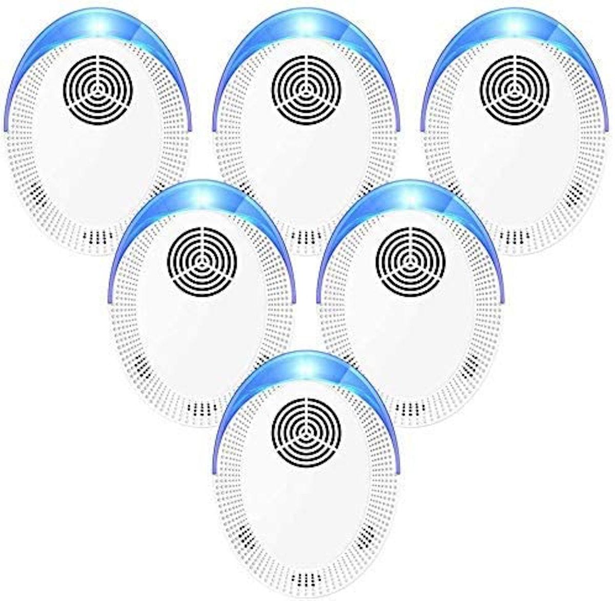 Bocianelli Ultrasonic Pest Repeller (6-Pack)