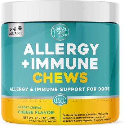 Ready Pet Go! Allergy + Immune Support Chews (90 Count)