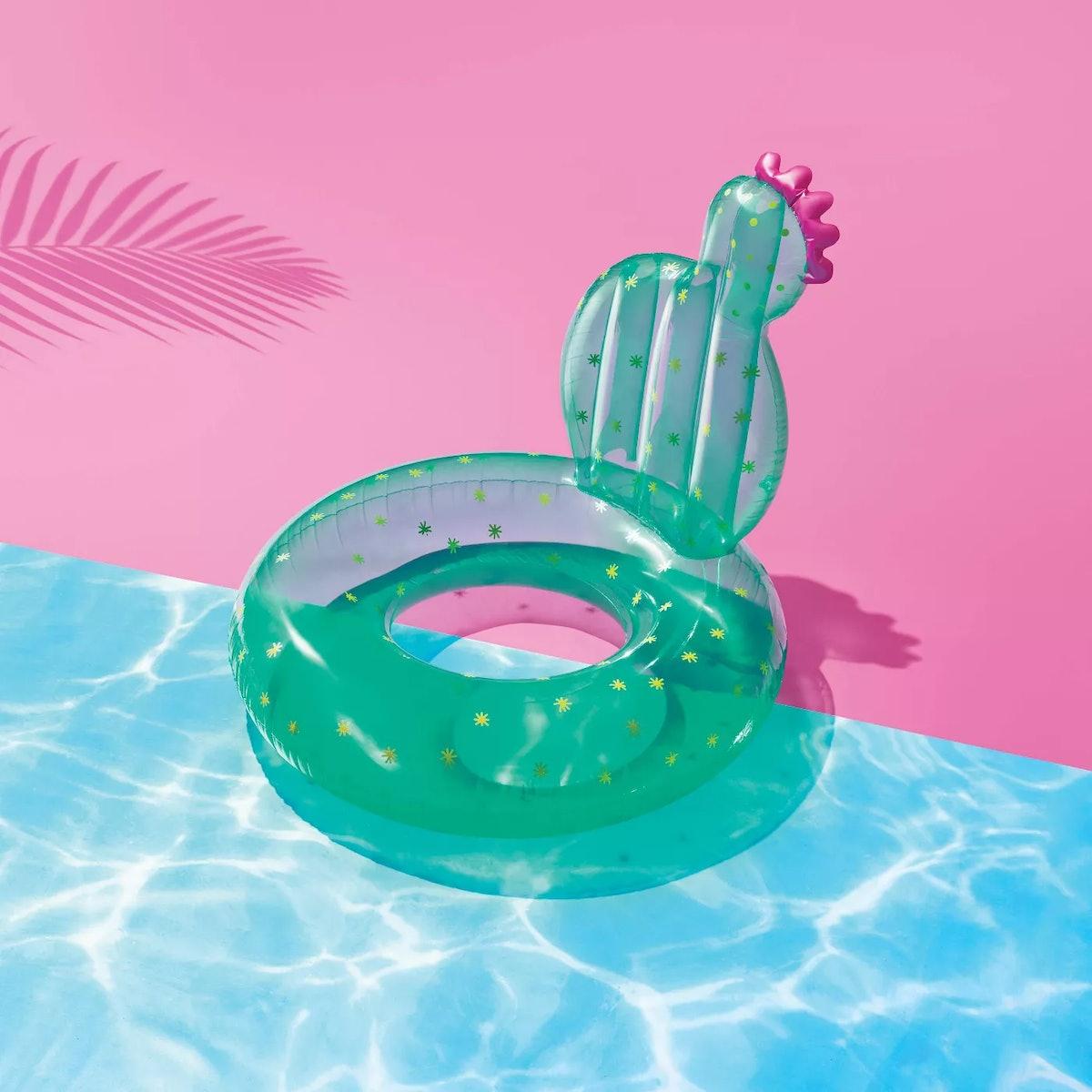 Sun Squad Cactus Lounge Float