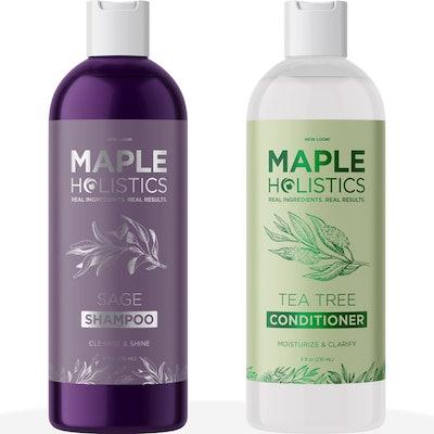 Maple Holistics Dry Scalp Shampoo and Conditioner