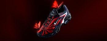 Skepta Nike Tailwind V Red