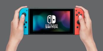 nintendo switch handheld mode hardware