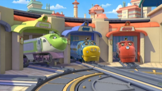 'Chuggington' originally aired in the UK in 2008.