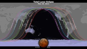 nasa visualization of lunar eclipse visibility
