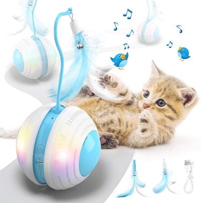Biilaflor Interactive Cat Ball Toy