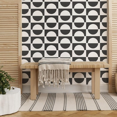 PACK of 2 Tile Stencils for Floors