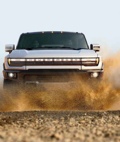 GMC's electric Hummer SUV. Electric vehicles. Electric cars. EV. EVs.