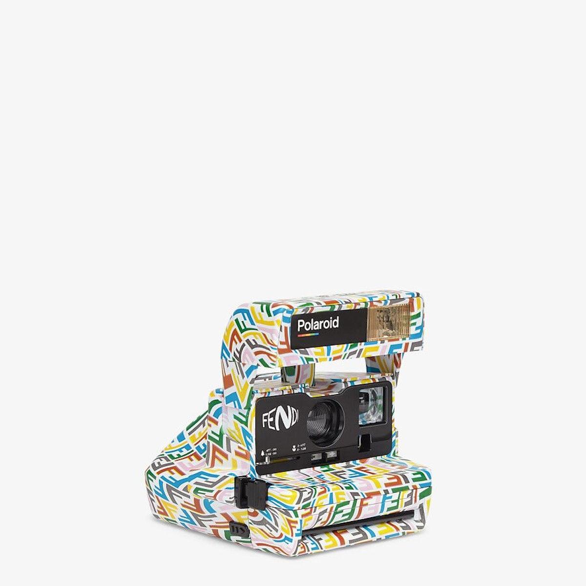 Multicolor Vintage Camera