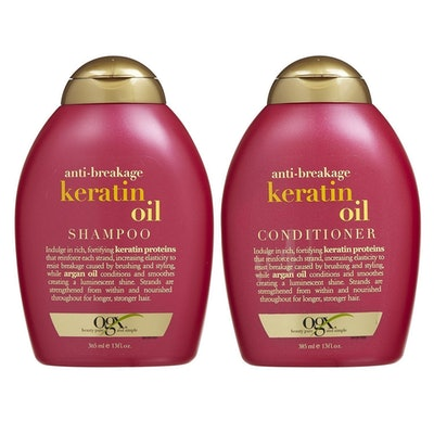 OGX Anti-Breakage Keratin Shampoo and Conditioner