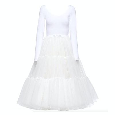 Miu Miu Ballerina Style Tulle Dress