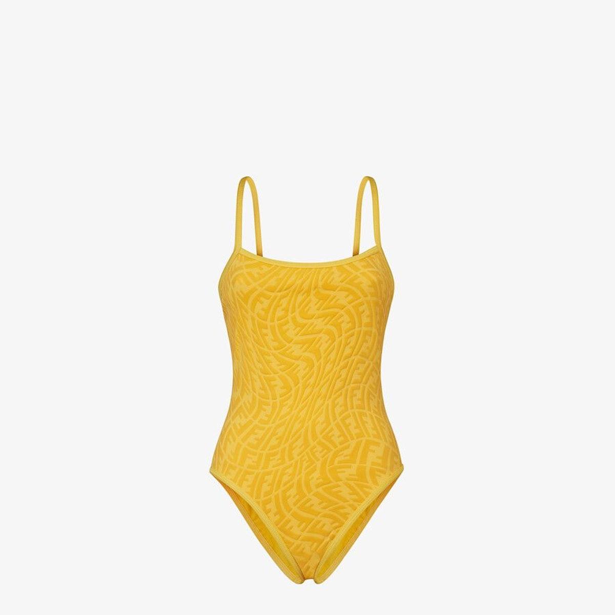 Yellow Lycra® Swimsuit