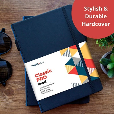 Hustle Co. Classic Pro Lined Notebook