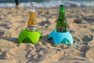 AOMAIS Beach Sand Coasters (5-Pack)