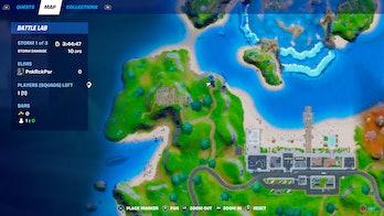 fortnite purchase rift location 2 map