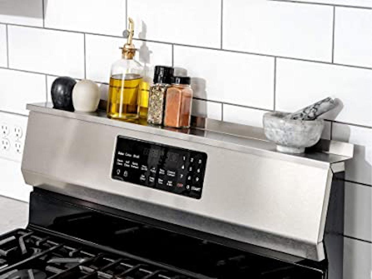 StoveShelf Magnetic Shelf For Kitchen Stove