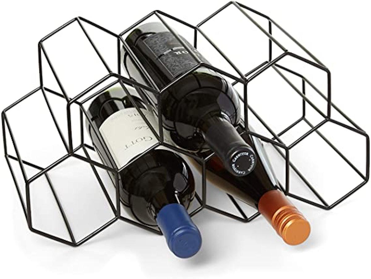 HB Design Co. Countertop Wine Rack