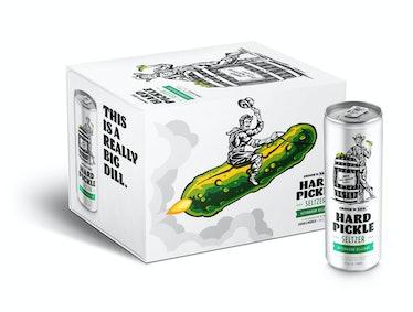 BrüMate & Crook & Marker released a Hard Pickle Seltzer for summer 2021.