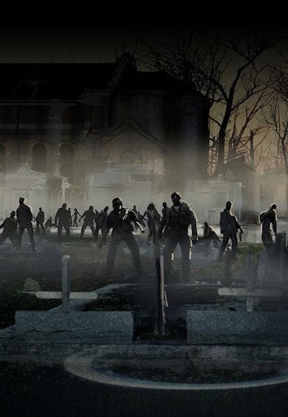left 4 dead 2 zombie horde art