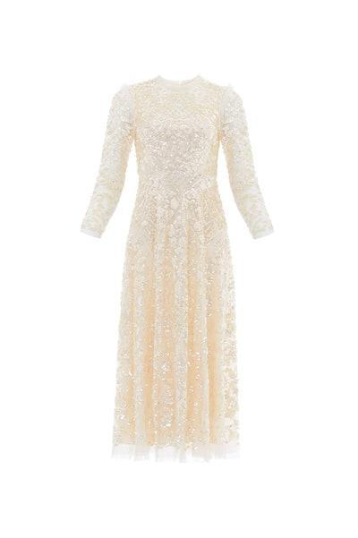Aurelia Long Sleeve Ballerina Dress