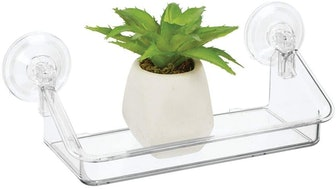 mDesign Suction Cup Shelf