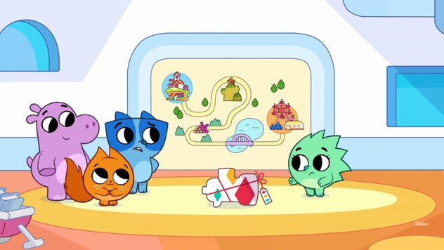 'Pikwik Pack' was produced by Guru Studio, which also produces 'Paw Patrol.'