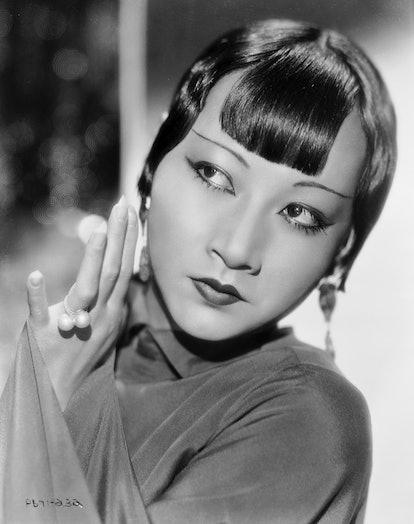 Chinese-American film star, Anna May Wong (1905 - 1961).