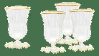 Moda Domus x Chairish Exclusive Water Glasses - Set of 4