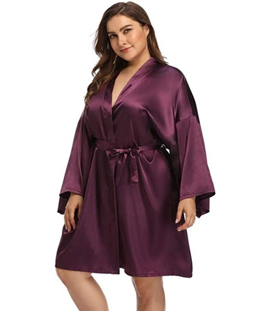 Super Shopping-zone Satin Robe
