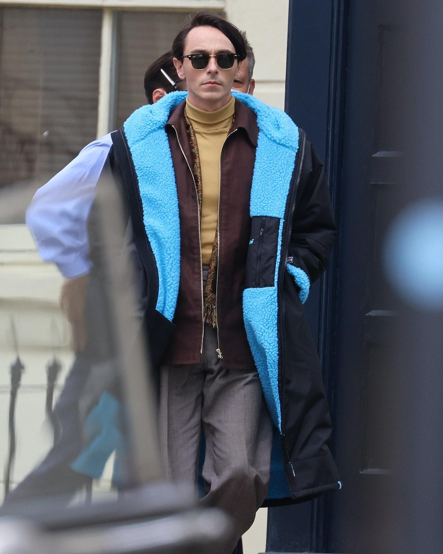 David Dawson wearing sunglasses
