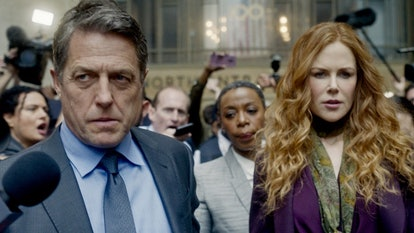 Nicole Kidman and Hugh Grant star in 'The Undoing,' a mystery show similar to 'Mare of Easttown.' Photo via HBO
