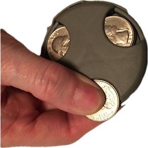 COIN MATE Pocket Organizer Change Holder (4 Pack)