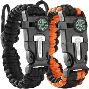 Atomic Bear Paracord Bracelet (2-Pack)