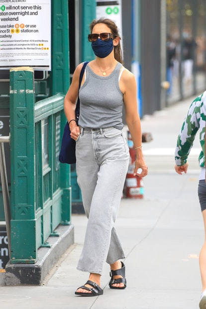 Katie Holmes Street Style