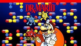 dr. mario cover art