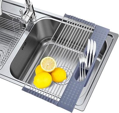 SISFORCE Roll-Up Dish Drying Rack