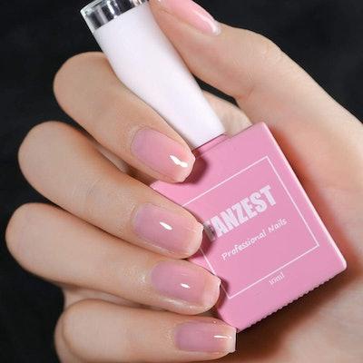 FANZEST Gel Nail Polish (Healthy Shine Pink)