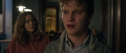 Amy Adams as Anna and Fred Hechinger as Ethan in The Woman in the Window.