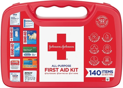 Johnson & Johnson Portable First Aid Kit