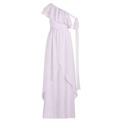 Susanna One Shoulder Ruffled Maxi Gown