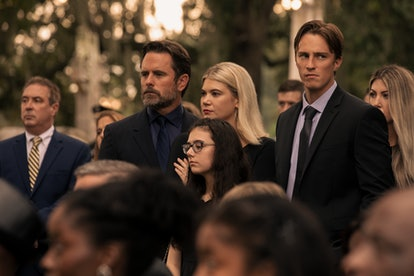 John B. and Sarah were presumed dead in Season 1 of 'Outer Banks.' Photo via Netflix