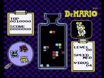dr mario gameplay
