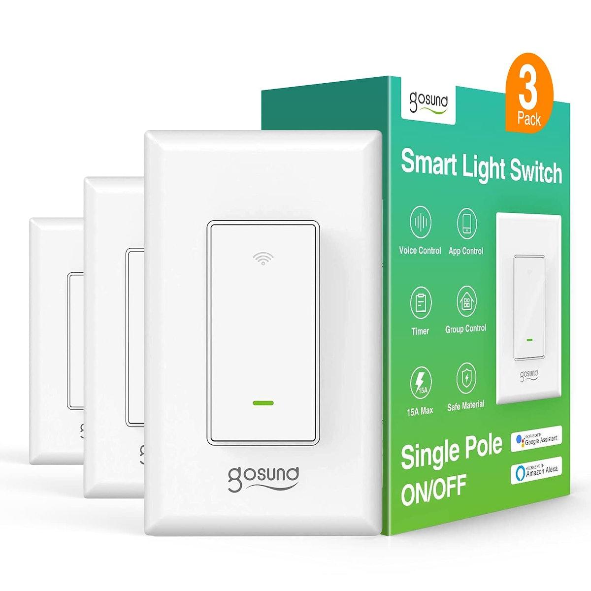 Gosund Smart Light Switch (3-Pack)
