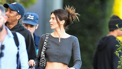 LOS ANGELES, CA - JANUARY 23: Kendall Jenner is seen on January 23, 2020 in Los Angeles, California....