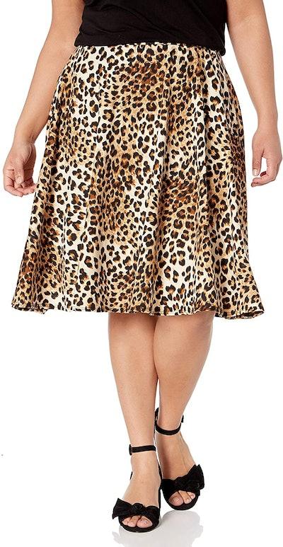 Star Vixen Plus-Size Knee-Length Skirt
