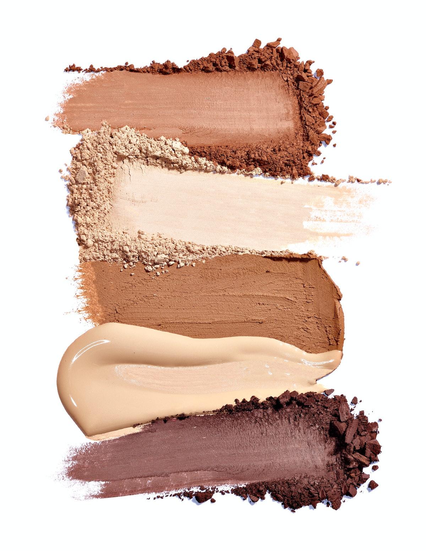 Makeup powder and cream