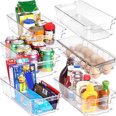 Youtopia Refrigerator Storage Bins (Set Of 6)