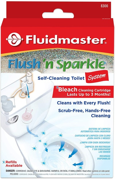 Flush 'n Sparkle Automatic Toilet Bowl Cleaning System