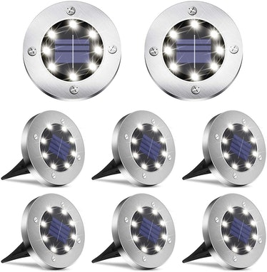 DUUDO Solar Lights Outdoor (8-Pack)